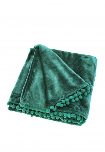 Walton Lifestyle Cashmere Throw, Green