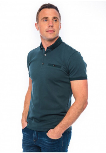 XV Kings by Tommy Bowe Warnervale Polo Shirt, Forest