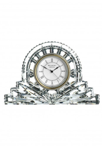 Waterford Crystal Lismore Large Cottage Clock