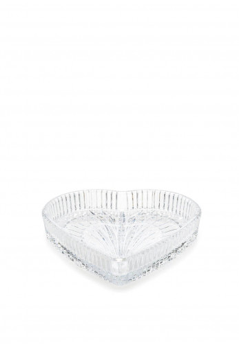 """Waterford Crystal 8"""" Heart Tray"""