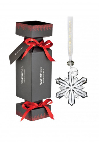 Waterford Crystal Snowflake Christmas Ornament Cracker
