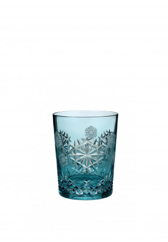 Waterford Crystal Aqua Snowflake Happiness Tumbler