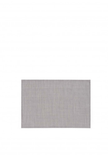 Walton Rectangle Placemat, Grey