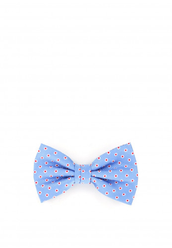 Weise Boys Polka Dot Bow Tie, Blue