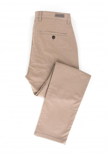 White Label Cotton Chinos, Beige