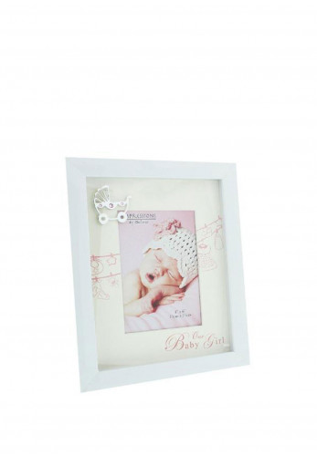 Celebrations Our Baby Girl Photo Frame, 4 x 6