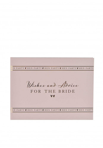 Amore by Juliana Hen Party Guest Book, Pink