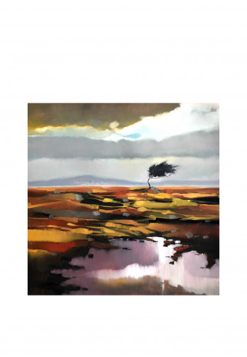 Sharon McDaid Wind Through the Heather Framed Art