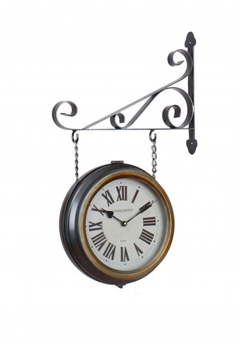 WJ Sampson Station Clock & Bracket