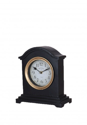 WJ Sampson Metal Mantle Clock