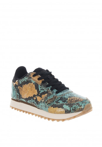 Woden Ydun Snake Trainers, Multi-Coloured