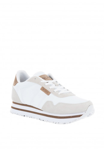 Woden Nora II Plateau Trainers, White