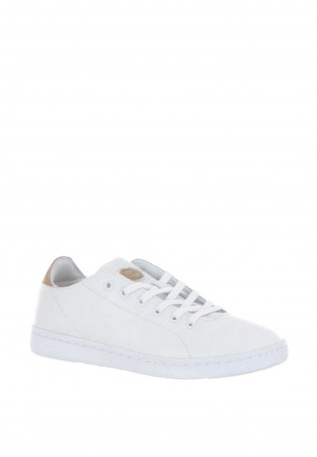 Woden Jane Leather Trainers, White