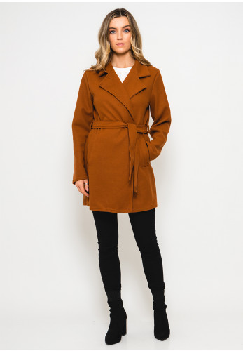 Seventy1 One Size Coat, Tobacco Brown