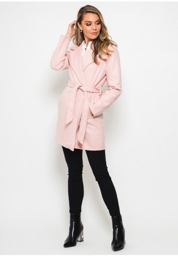 Seventy1 Check One Size Coat, Pink