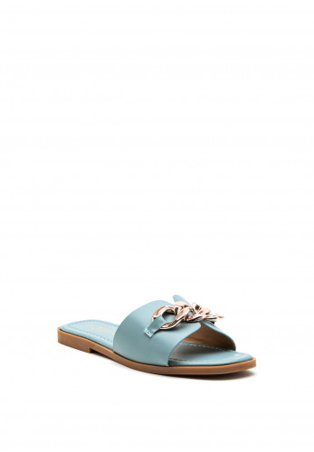 Zen Collection Chunky Chain Slider, Blue