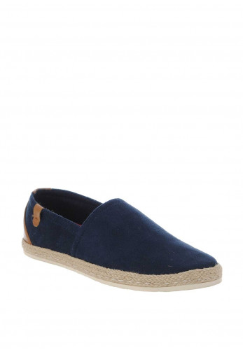 XTI Men's Suede Multi Loafer, Navy