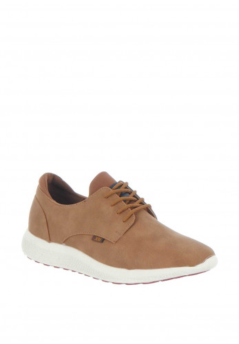 XTI Men's White Sole Trainer, Camel