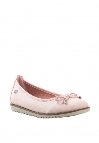 Xti Girls Faux Suede Pumps, Pink