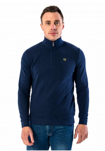XV Kings by Tommy Bowe Bective Jumper, Royal Azure