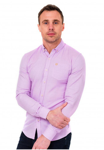 XV Kings by Tommy Bowe Nambucca Long Sleeve Shirt, Plum