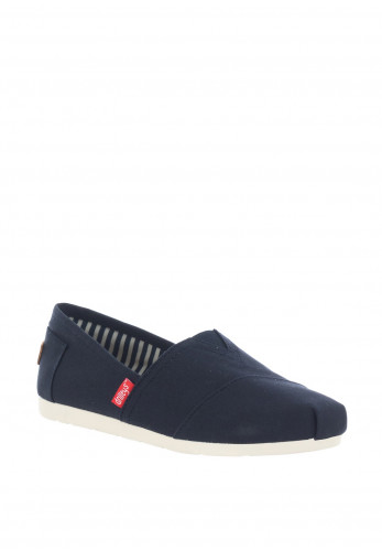 Drilleys Classic Canvas Slip on Shoes, Navy