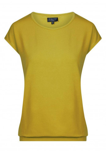 Zilch Cap Sleeve Top, Lime