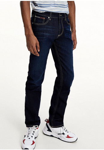 Tommy Jeans Original Straight Ryan Jeans, Lake Raw Stretch