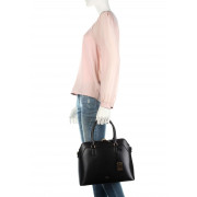 90b9c23069e3 Ralph Lauren Newbury Nora Leather Bag Black. Be the first to review this  product