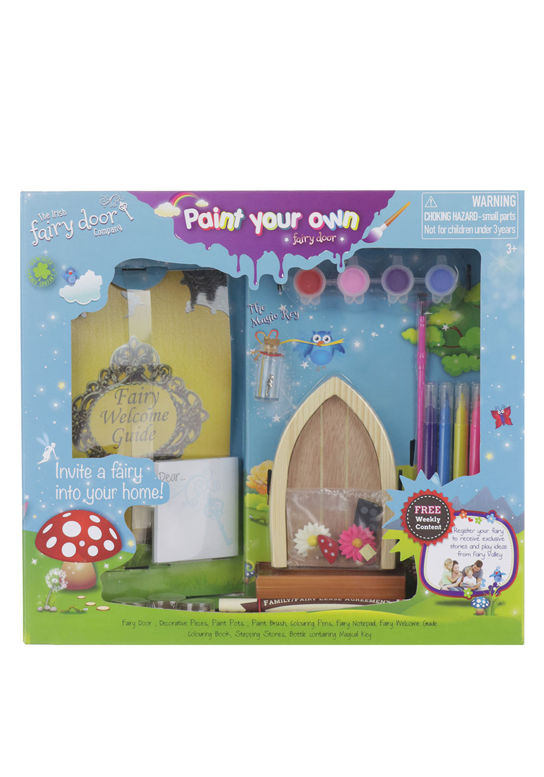 The irish fairy door company paint your own door mcelhinneys for My irish fairy door