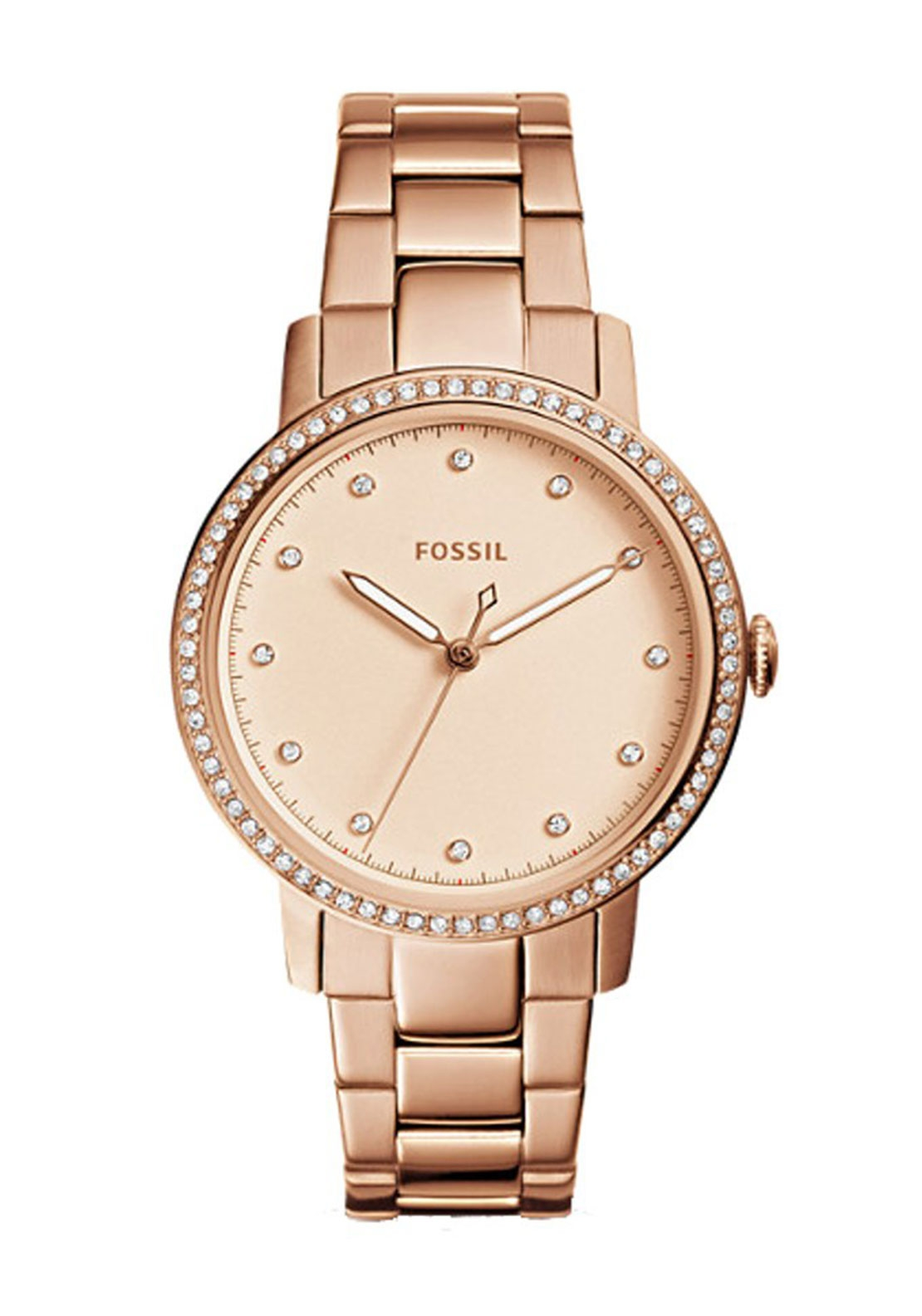fossil ladies neely watch rose gold mcelhinneys. Black Bedroom Furniture Sets. Home Design Ideas