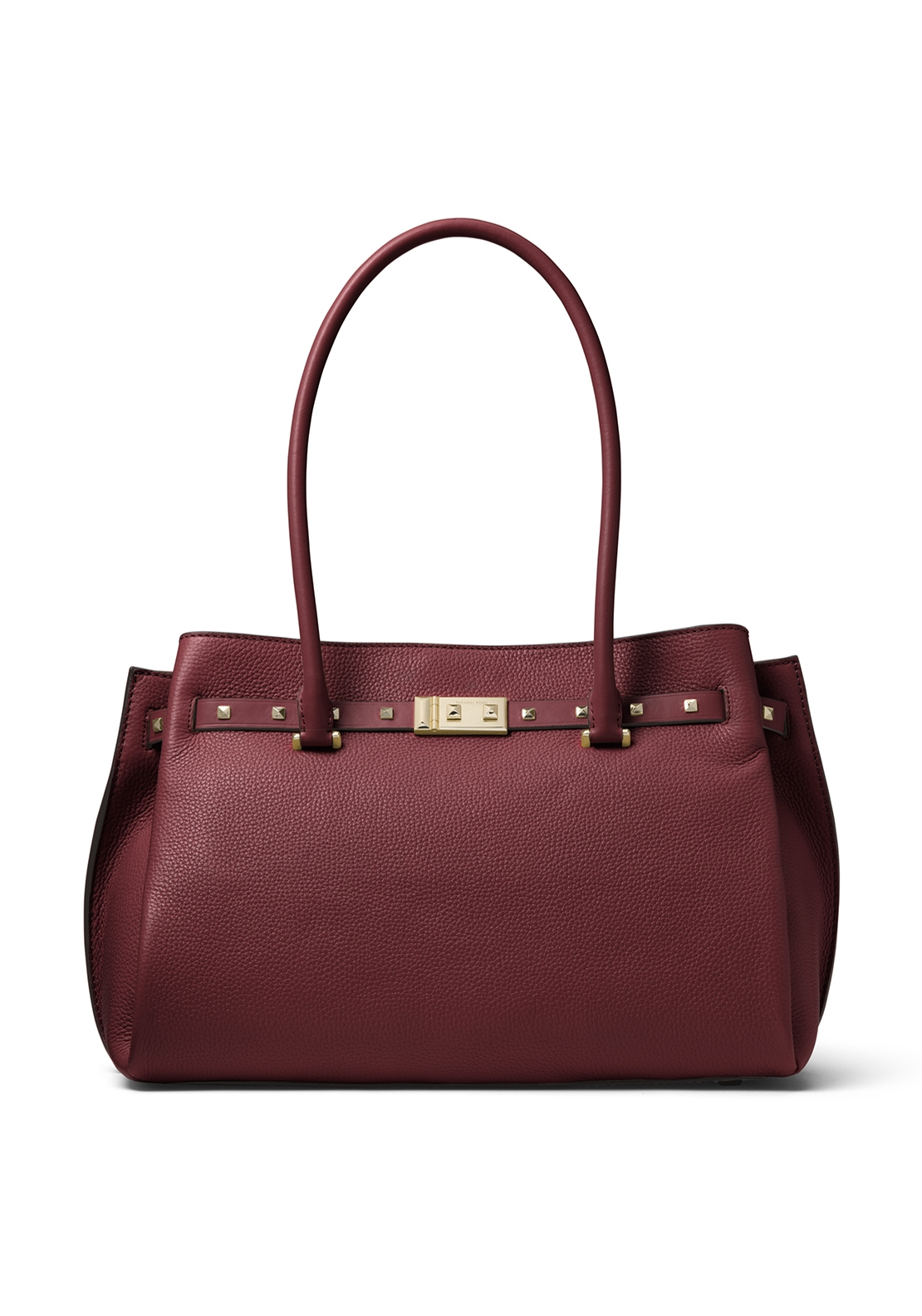 a46a06f5a656 ... Oxblood MICHAEL Michael Kors Addison Large Leather Tote Bag, Oxblood
