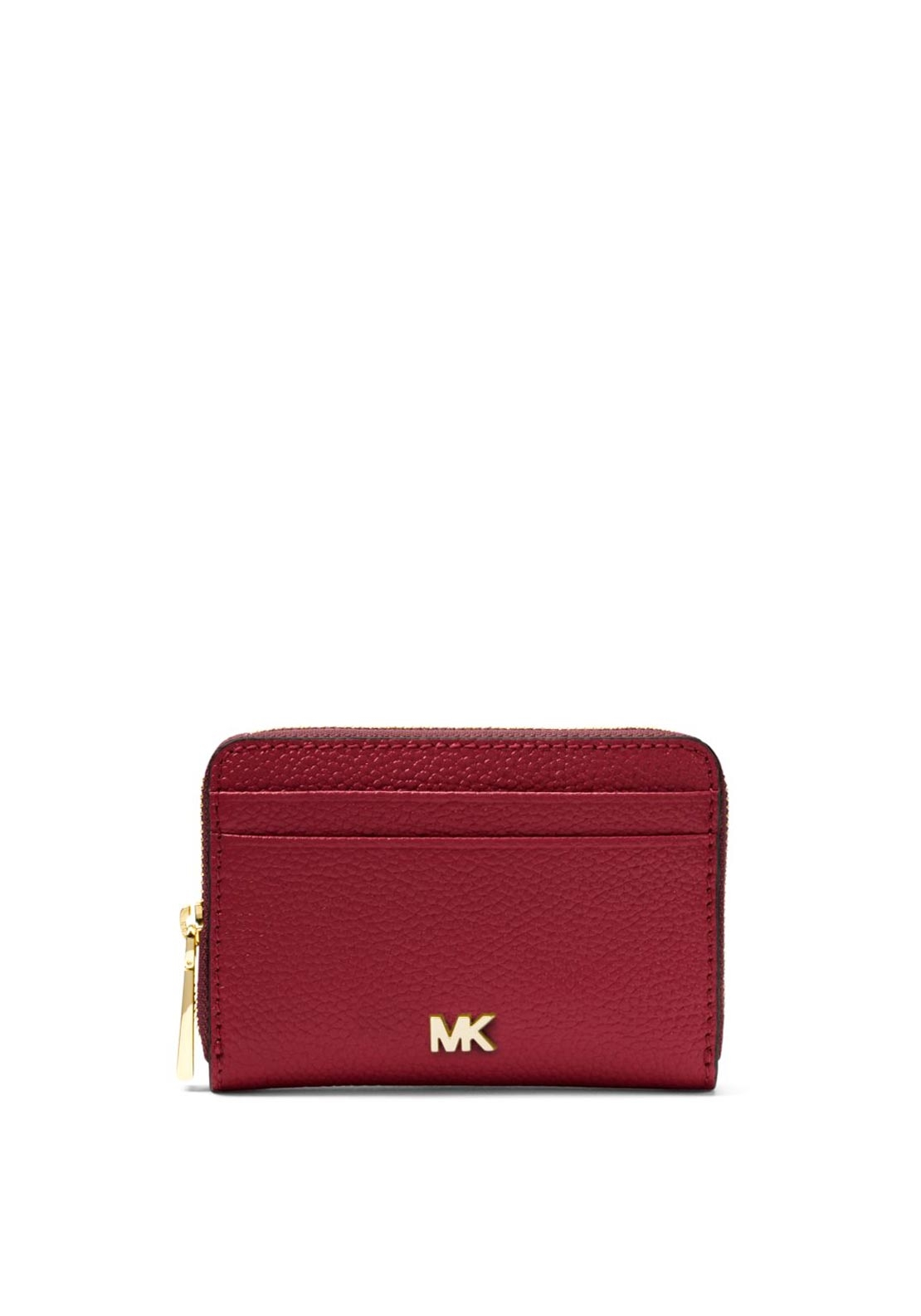 michael michael kors mercer small leather wallet maroon. Black Bedroom Furniture Sets. Home Design Ideas