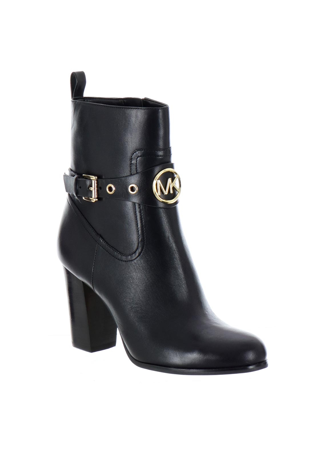 aa4fc2d4572 MICHAEL Michael Kors Heather Leather Ankle Boots, Black