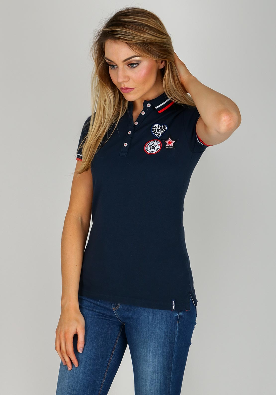 new authentic best loved best sell Super Dry Polo Shirts Ladies | Coolmine Community School