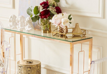 Interior Inspiration – How to Dress your Console Table
