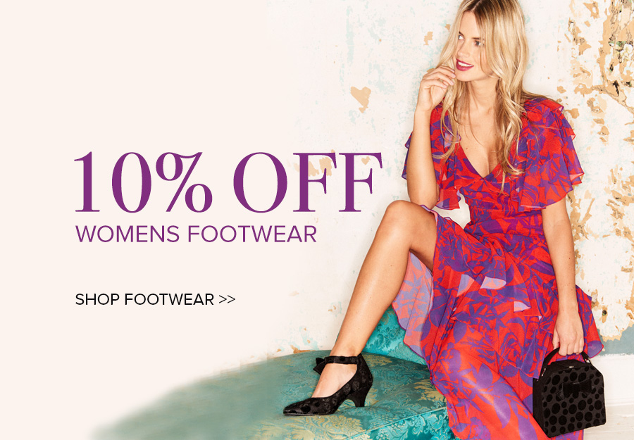 10% off Shoes
